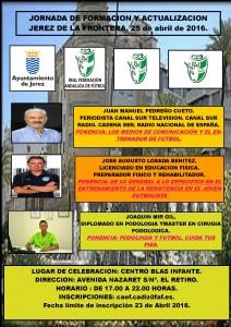 Jornada de Formación y Actualización Jerez